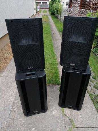 sprzedam zestaw nagłośnienia QSC K12 + QSC KSUB
