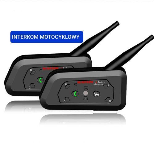Nowy Interkom motocyklowy 2 kaski R6 jak z Ejeas V6 V6pro Vnetphone