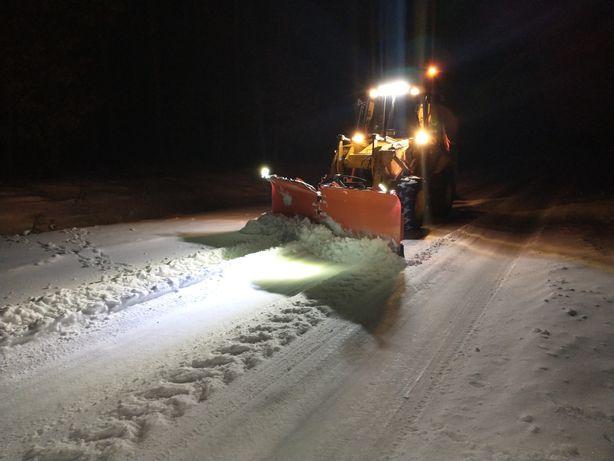 Odśnieżanie posypywanie utylizacja śniegu