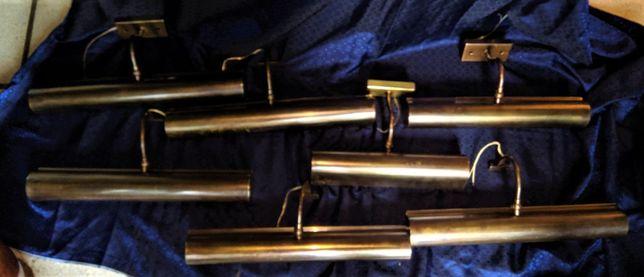 Candeeiros Parede Para Quadros Latão Bronzeado