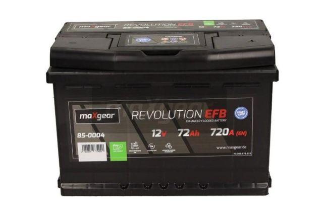 Akumulator maXgear REVOLUTION EFB Start-Stop 12V 72Ah 720A P+ Kraków