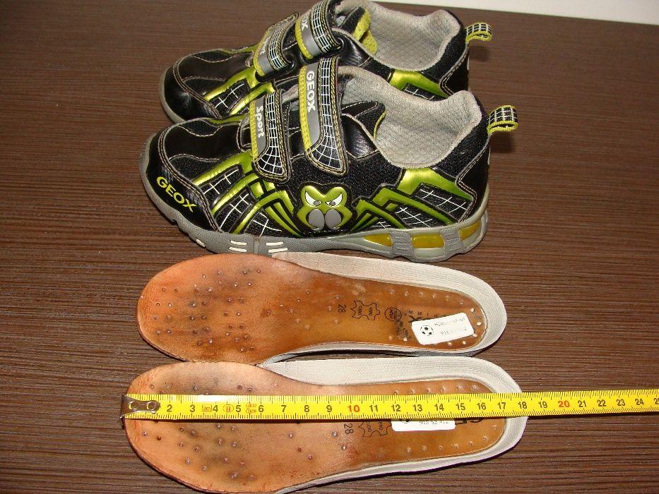 Komfortowe oddychające dziecięce buty GEOX RESPIRA SPORT. Roz.28-18cm Kętrzyn - image 1