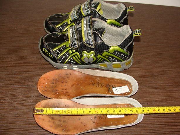 Komfortowe oddychające dziecięce buty GEOX RESPIRA SPORT. Roz.28-18cm