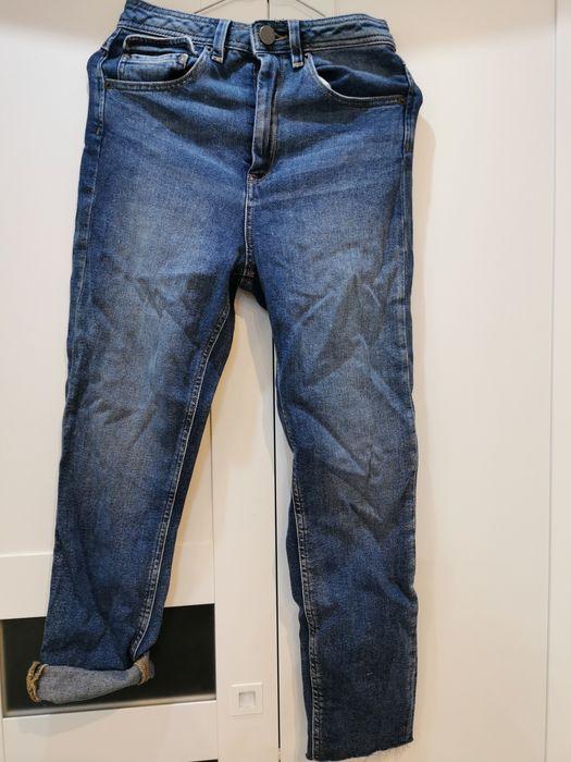 Spodnie z jeansowe z wysokim stanem Asos 34 Warszawa - image 1