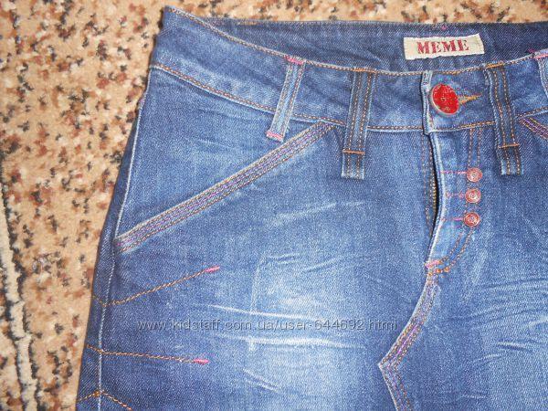 Юбка джинсовая, производство Италия, на 46р!