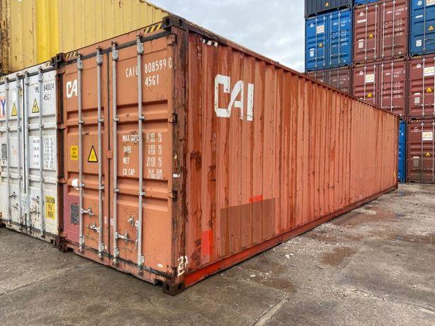 Używany kontener morski/magazynowy 40'HC - Lublin - duży wybór FZ