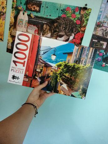 "Puzzle 1000 elementów marki Hinkler ""Lake Como, Lombardy, Italy"""