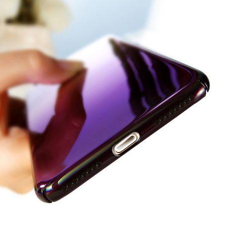 Чехол на Samsung Galaxy S8 фиолетовый градиент