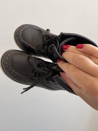 Gap кожаные ботинки хайтопы на мальчика размер 7