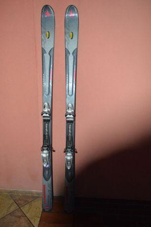 narty zjazdowe Kneissl Rail carbon 170 cm + wiązania Rossignol Axium