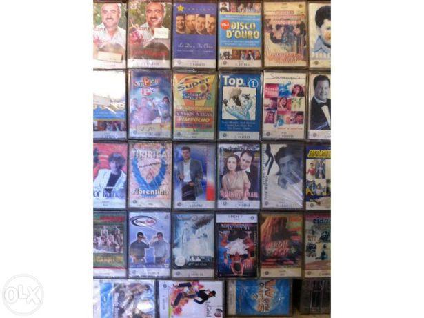 Mais de 3500 Cassetes de Audio originais seladas dos anos 90 até 2010