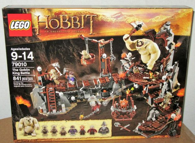 LEGO HOBBIT 79010 - Bitwa z Królem Goblinów - NOWY i ORYGINALNY !!