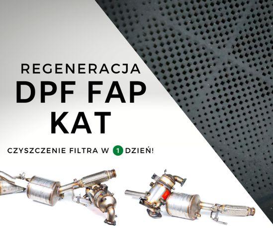 Czyszczenie Filtrów Regeneracja Filtra DPF FAP Gwarancja FV