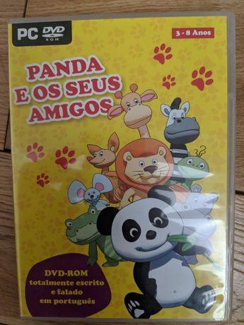 Jogo PC DVD Panda e os Seus Amigos 3-8 Anos (caricas)
