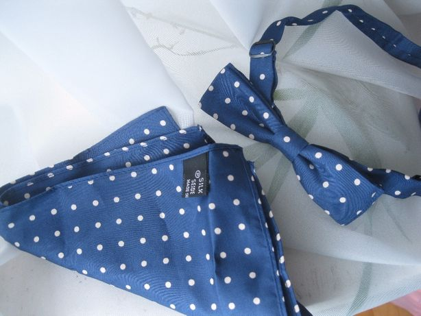 Продам галстук-бабочку с платочком шелк