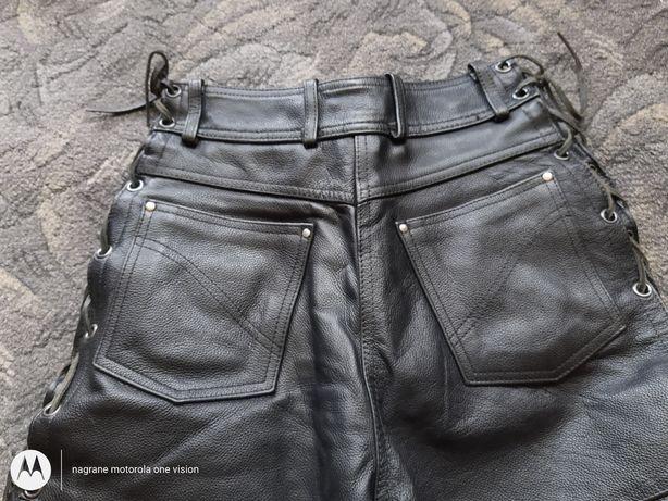 Spodnie damskie motocylkowe