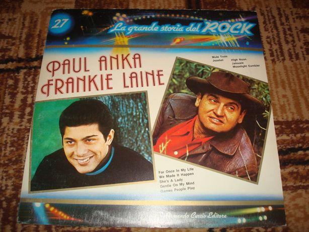 Płyty winylowe Paul Anka Frankie Laine