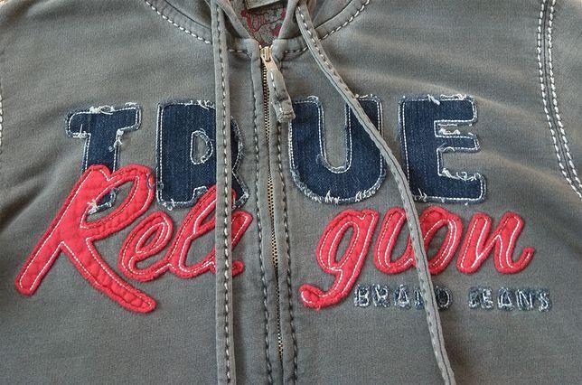 Оригинал TRUE RELIGION кофта худи garment dyed S