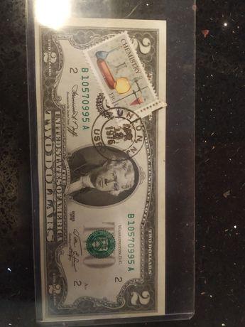 Nota 2 Dólares Americanos 1976