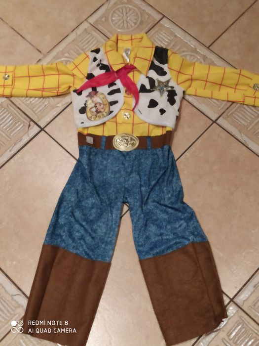 Strój,kostium Chudy Toy Story 98 3-4 lata. Ruda Śląska - image 1