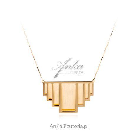 ankabizuteria.pl biżuteria z turmalinem Naszyjnik srebrny włoski - ANA