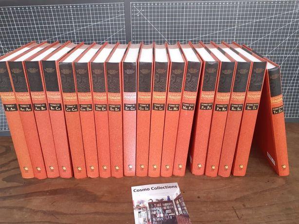 Dicionário Houaiss da língua portuguesa em 18 volumes grande formato