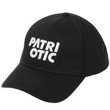 Czapka Apparel Snapback kolor czarny 100% Patriotic