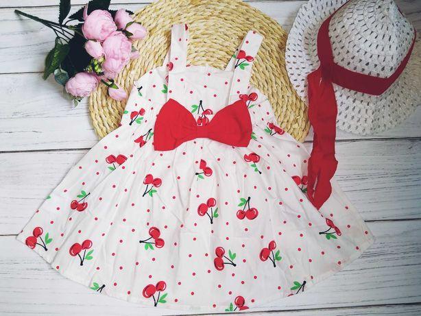 Sukienka letnia+kapelusz