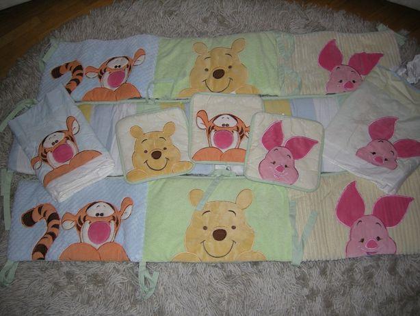 Бортики\защита для детской кроватки высота 25 см