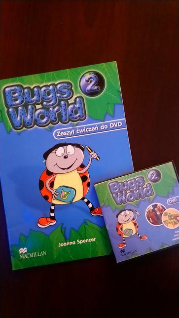 Bugs world 2 dvd +zeszyt cwiczen do dvd