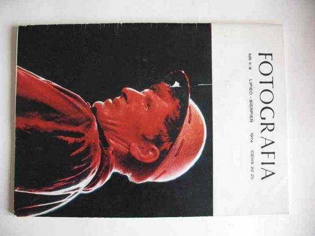 Miesięcznik FOTOGRAFIA nr 7-8 z roku 1974