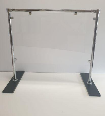 MOBILNA osłona antywirusowa z plexi 162cm x 80cm