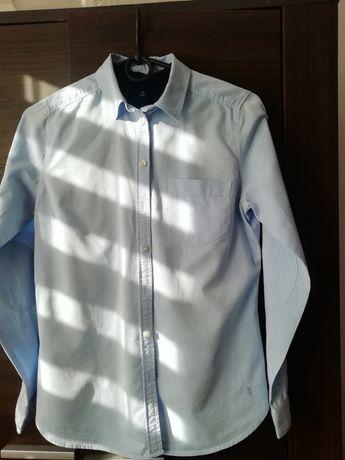 Elegancka koszula damska r. 40 błękit