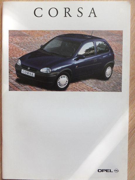 Prospekt Opel Corsa-Max wydanie