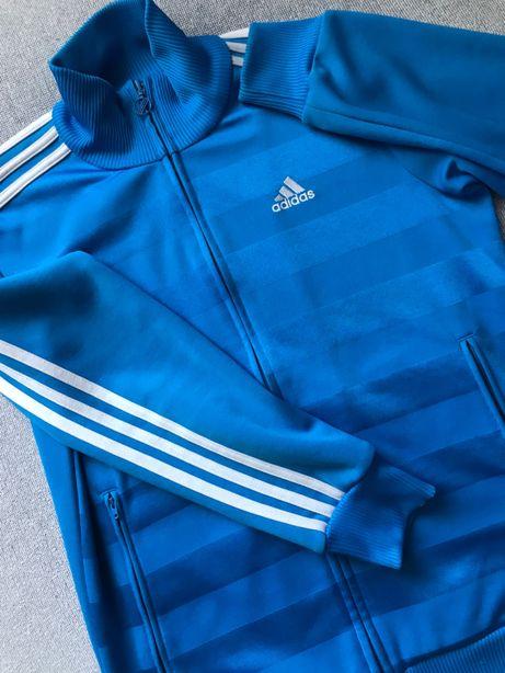 Bluza adidas niebieska