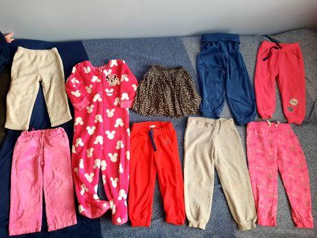 Ciuszki dla dziewczynki 92-98 całość