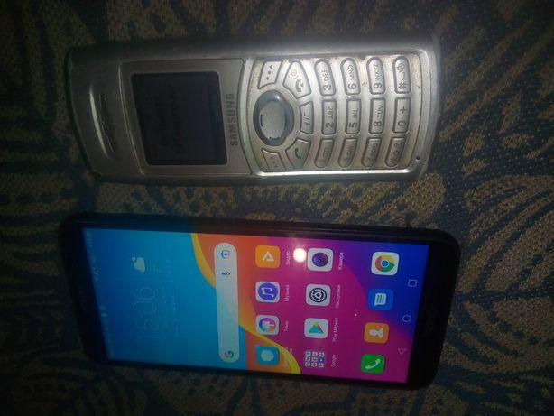 телефон  honor-7a, samsung-c100