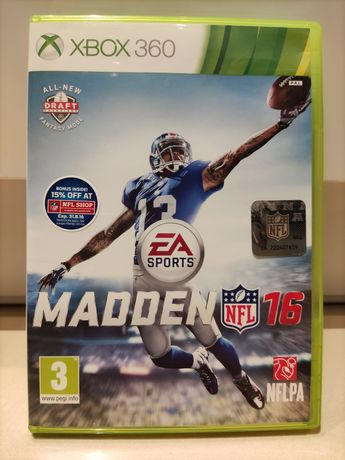 Gra Madden NFL 16 na konsolę Xbox360, możliwa wysyłka
