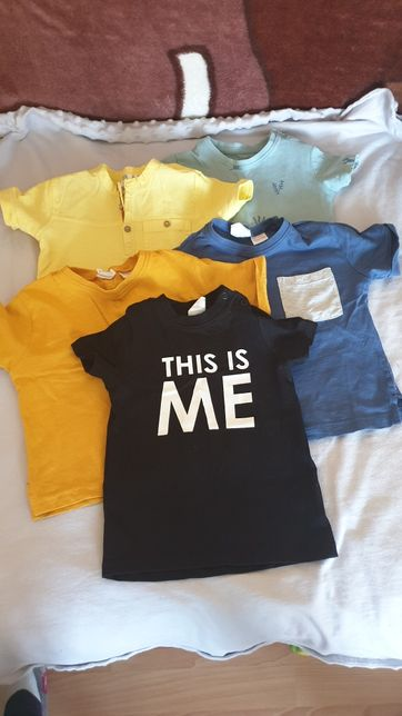 Koszulka t-shirt h&m zara Reserved 86