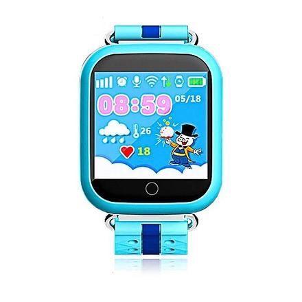 ПРОДАМ СРОЧНО: Детские умные GPS часы Q100s Blue (оригинал, в идеале)