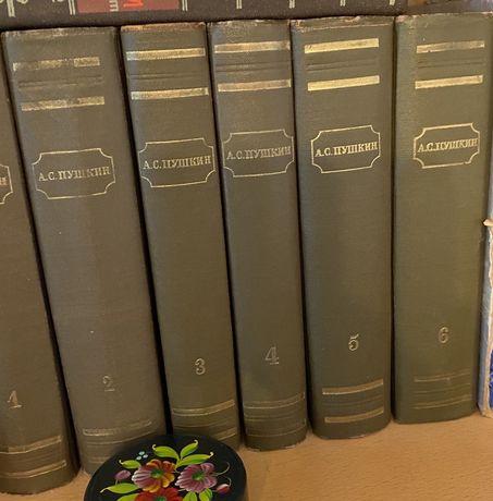 Собоание А. С. Пушкин в 6 томах, комплект, 1949г