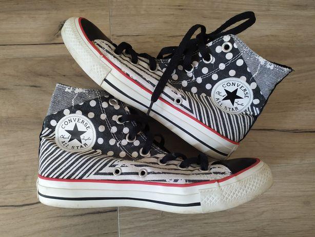 Trampki Converse rozmiar 37,5 długość wkładki 24 cm