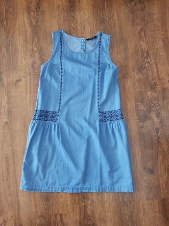 Sukienka jeansowa top secret 34