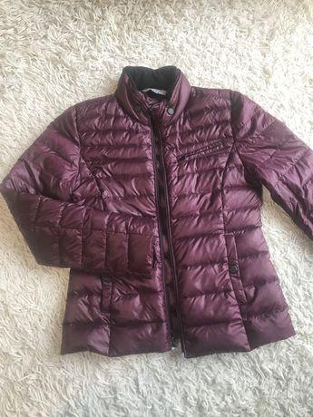 куртка тонкий пуховик