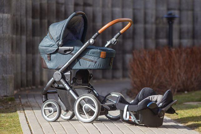 Wózek dziecięcy Mutsy EVO Gondola + Nosidełko Maxi-Cosi