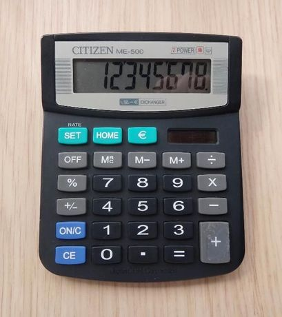Калькулятор Citizen ME-500 (оригинал)