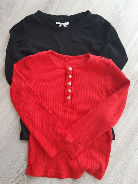 Bluzeczki 2 szt r.110