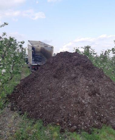 Biomasa Bio podłoże popieczarkowe nawóz obornik bio uprawa