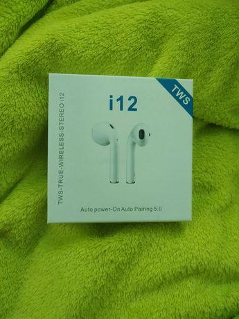 Наушники беспроводные Bluetooth InPods i12