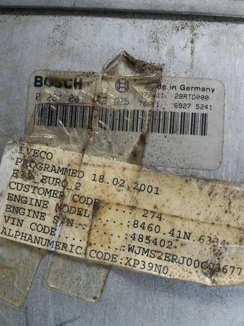 Блок управления двигателя iveco
